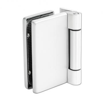Deurscharnier met aanschroefplaat vierkant_bohle_aluminium_glaskoning