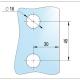 Deurscharnier4 met aanschroefplaat vierkant_bohle_glaskoning