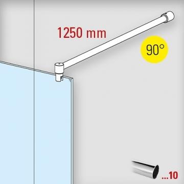 douchewand-stabilisatieset-muuraansluiting-90-1250mm-chroom-glaskoning