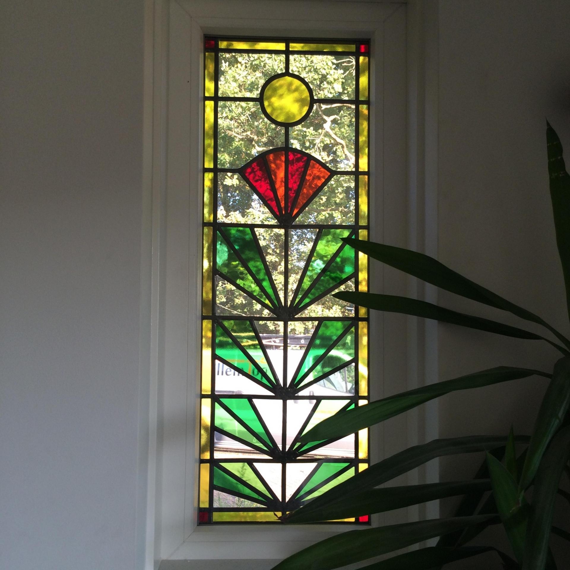 Glas In Lood Enkele Uitvoering Www Glaskoning Be