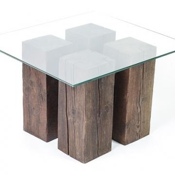 Tafelblad-glas-glaskoning