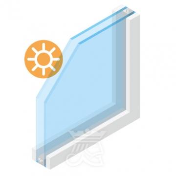 zonwerend-glas-zhr-dubbel-glaskoning